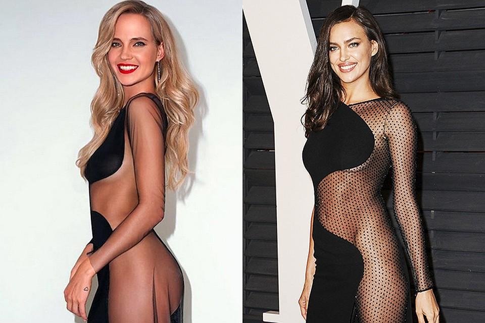 Певица сшила себе такое же платье, как наряд Ирины от Atelier Versace.