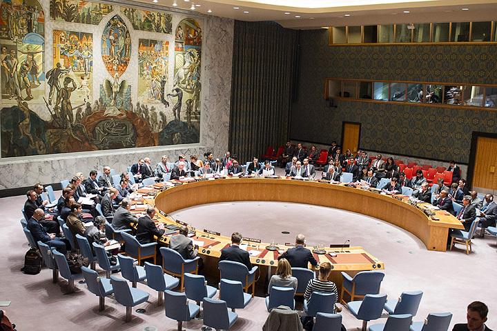 Проект резолюции в поддержку прекращения огня в Сирии поступил в СБ ООН.