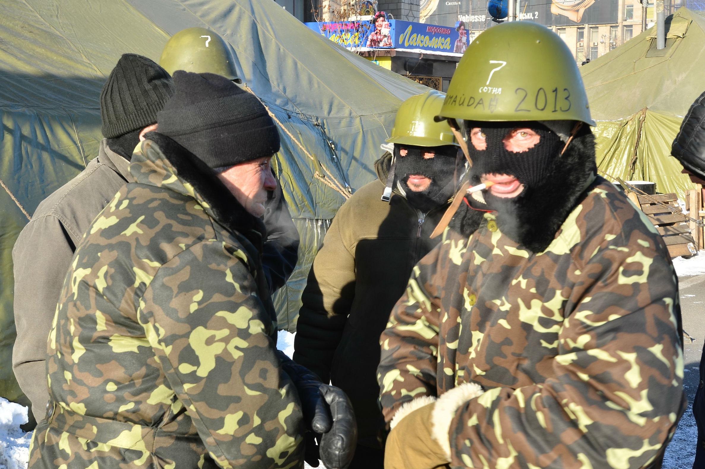 Два года назад власти незалежной решали, может ли Киев сохранить Крым и стоит ли Украине начинать войну с Россией. Фото: Янсонс Оскар