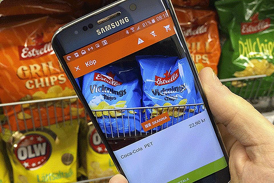 Шведский IT-специалист Роберт Элиасон создал мобильное приложение, которое заменяет сотрудников супермаркета. Фото: http://viken.naraffar.se/