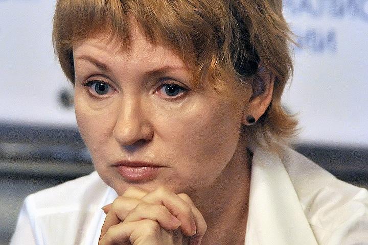 Супруга российского бизнесмена Виктора Бута во время пресс-конференции. Фото: ИТАР-ТАСС/ Митя Алешковский.