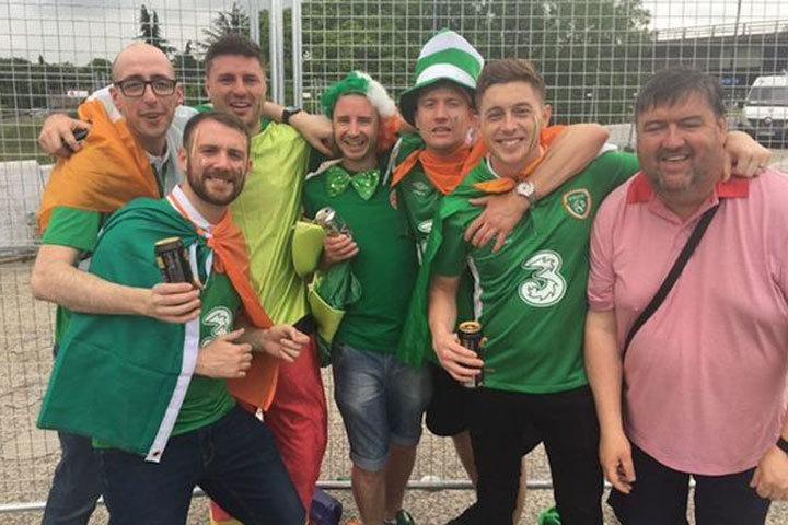 Ирландцу, спасшему жизнь человеку, помогли собрать деньги на новый билет. Фото: Facebook