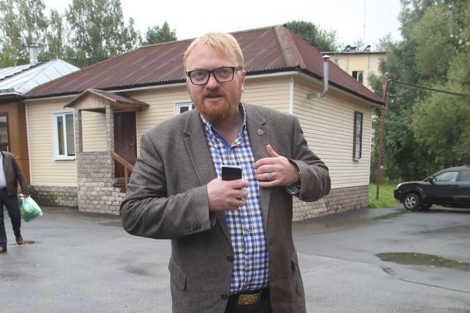 Виталий Милонов предлагает ужесточить ответственность за нацизм