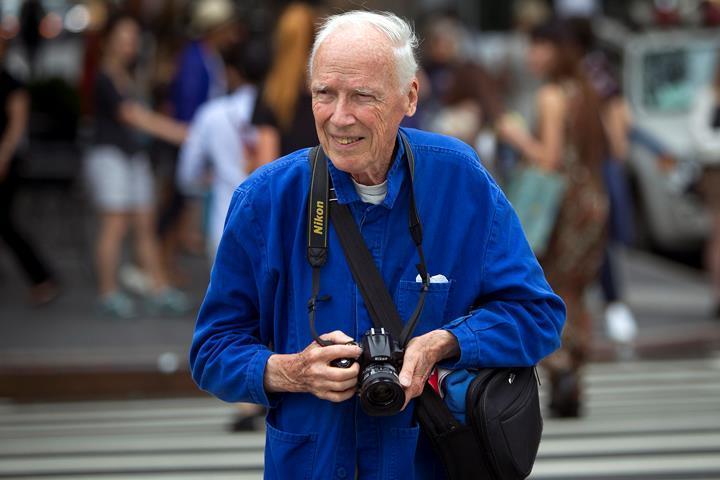 Отец стритстайл-фотографии Билл Каннингэм