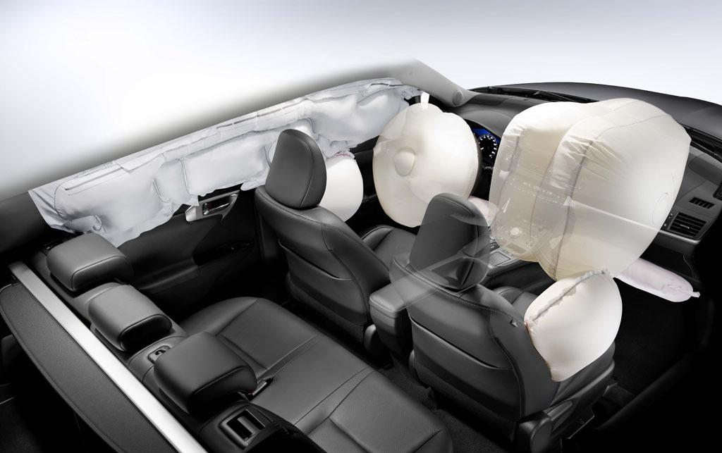 Подушки безопасности оказались не такими уж безопасными. Фото Toyota