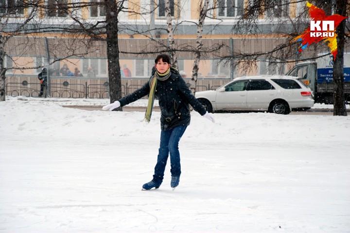 ВКрасноярске наострове Татышев появится наибольший каток в РФ