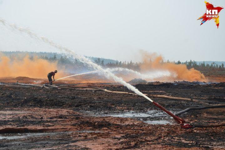 200 гектаров территории охватил огонь вСвердловской области заодни сутки