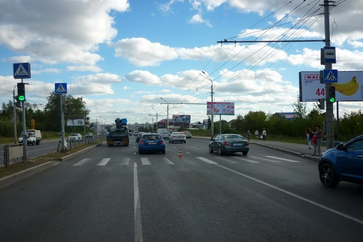 ВТомске шофёр Хендай сбил 6-летнюю девочку напешеходном переходе