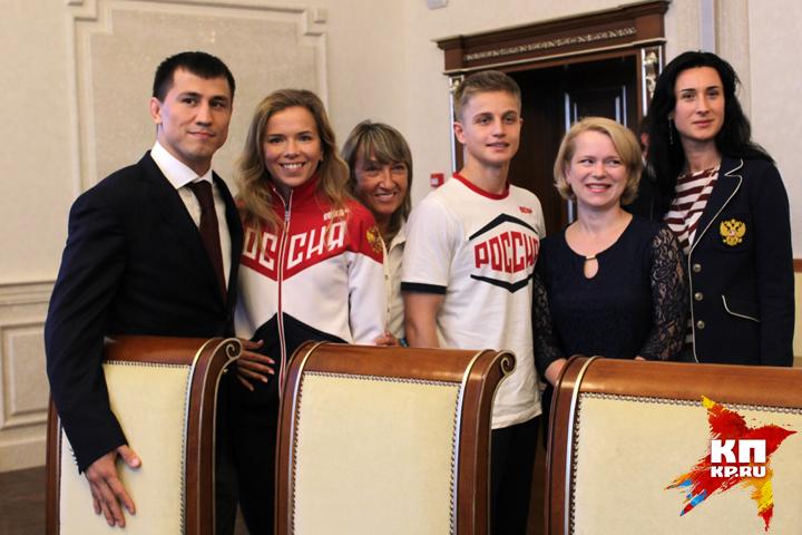 Губернатор оценил положение области наспортивной карте РФ