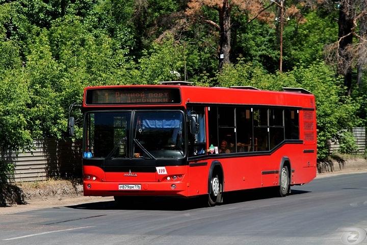 Впервом зимнем месяце МАЗ поставит вКазань 100 красных автобусов