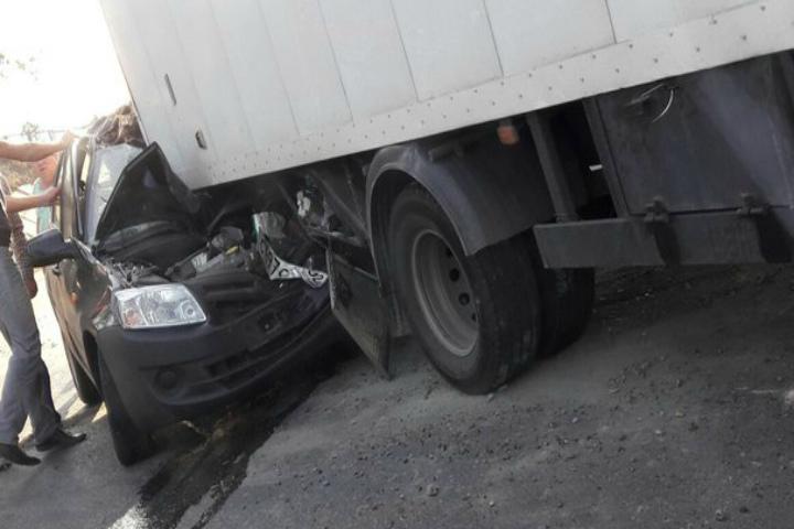ВБашкирии встолкновении с фургоном умер 37-летний шофёр «Лада Гранта»