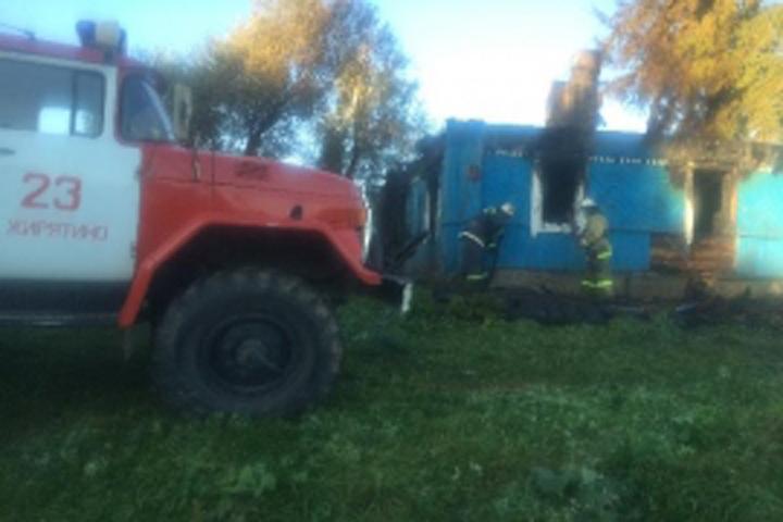 Впожаре вБрянской области погибли 3 человека