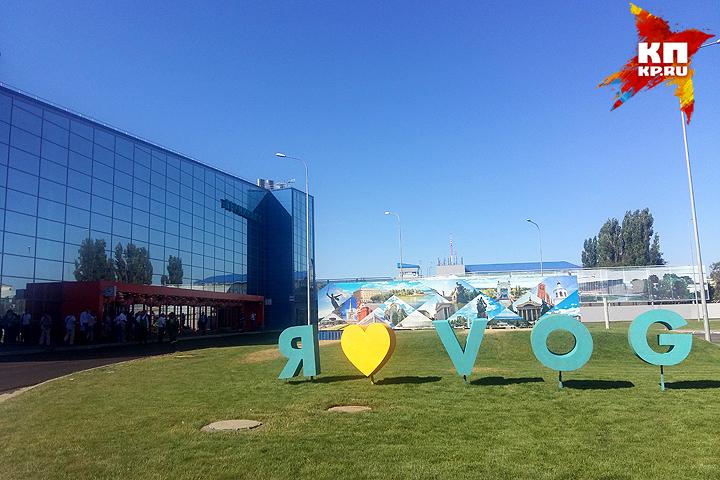 Вволгоградском аэропорту закончился 1-ый этап реконструкции