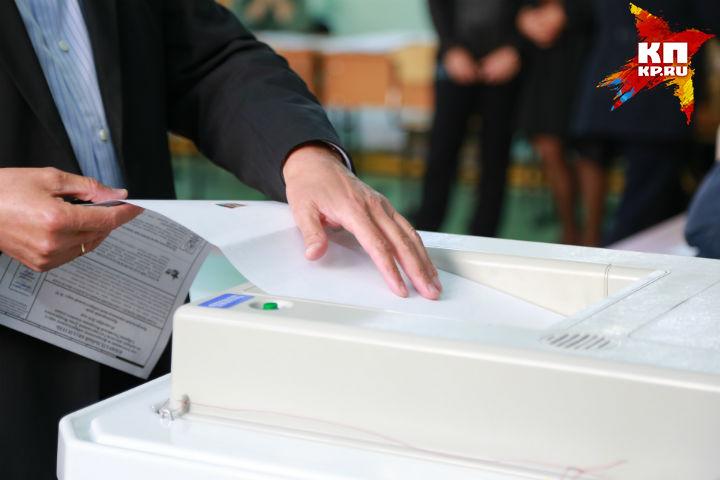 К10 утра вКрасноярске проголосовали неменее 19 тыс. человек