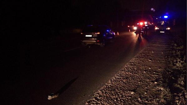 НаРяжском шоссе насмерть сбили неизвестного пешехода