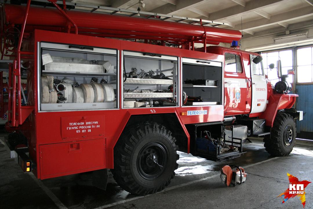 Два человека погибли напожаре вАлтайском крае