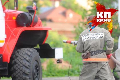 ВОмской области напожаре погибла 39-летняя женщина