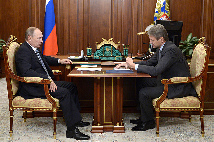 Путин обсудил сглавой Минсельхоза рекордный урожай зерновых