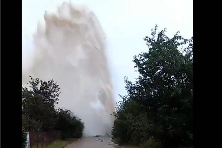 После учебной сирены вблизи «Гродно Азота» прорвало трубопровод