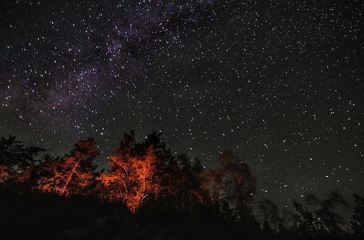 Всередине осени жители России смогут наблюдать два метеоритных дождя