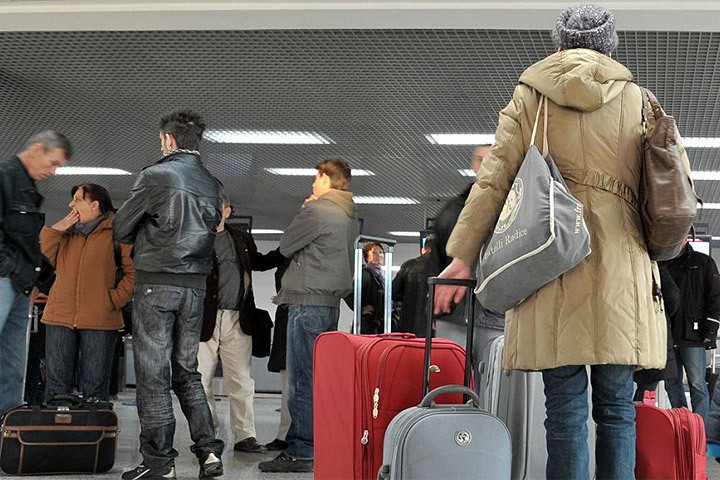 Массовая эмиграция из Литвы стала оной из основной тем кампании выборов в парламент. Фото: с сайта oxu.az