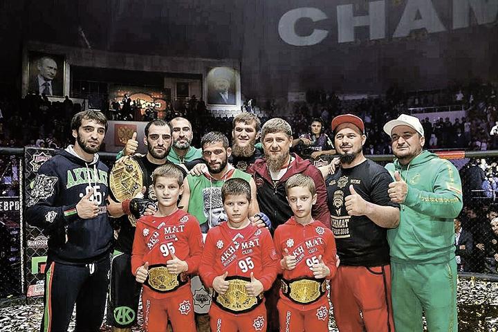 Детский турнир с участием сыновей Рамзана Кадырова стал поводом для взрослого конфликта.