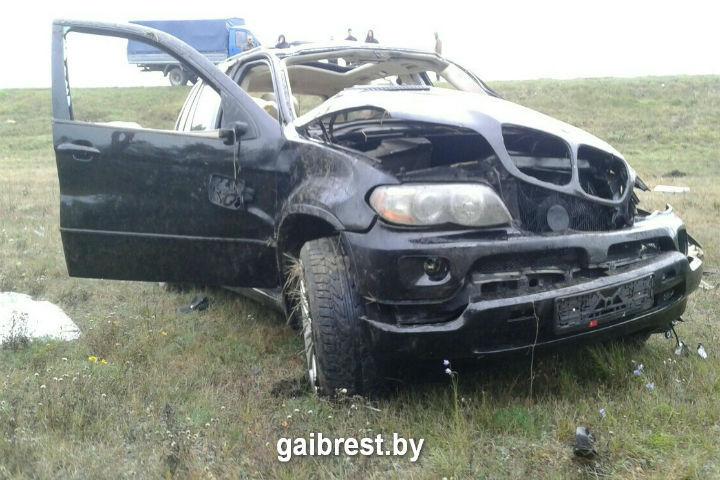 Парень погиб на месте аварии. Фото: ГАИ Бреста
