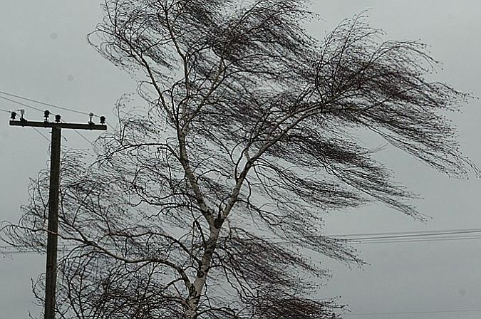 Скорость ветра будет свыше 20 м/с.