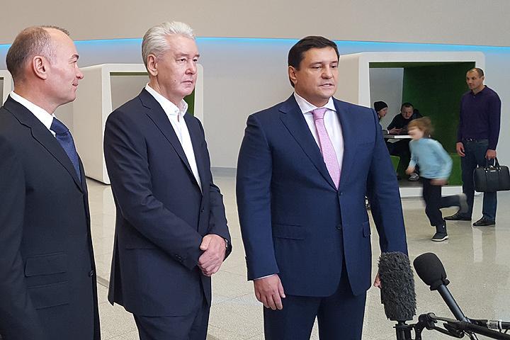 """Мэр Собянин: """"Несмотря на сложные экономические условия, строительство коммерческой недвижимости в Москве продолжается."""""""
