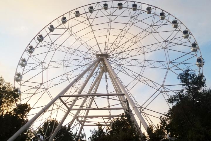 ВКазани пройдут слушания поновому колесу обозрения у«Ривьеры»