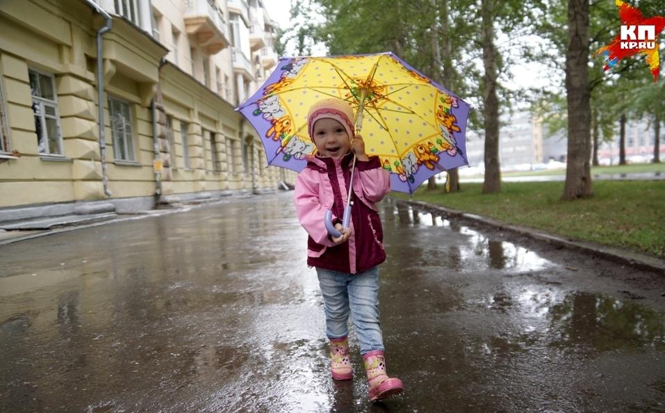 Синоптики прогнозируют слабые дожди.