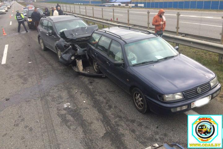 Шесть автомобилей попали в ДТП. Фото: odas.by