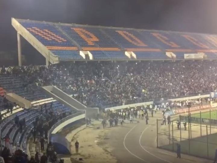 Вред от потасовки футбольных фанатов вВоронеже оценили практически вполмиллиона руб.