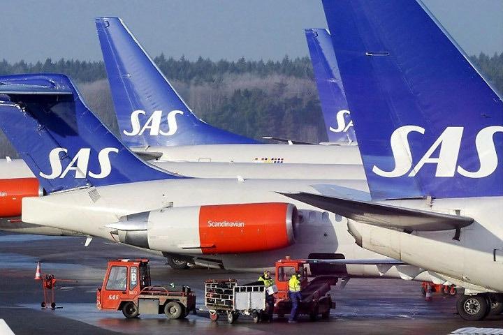 Самолет скандинавской авиакомпании SAS был задержан в Осло после того, как пилот не прошел тест на содержание алкоголя в крови. Фото: с сайта polet-bilet.ru