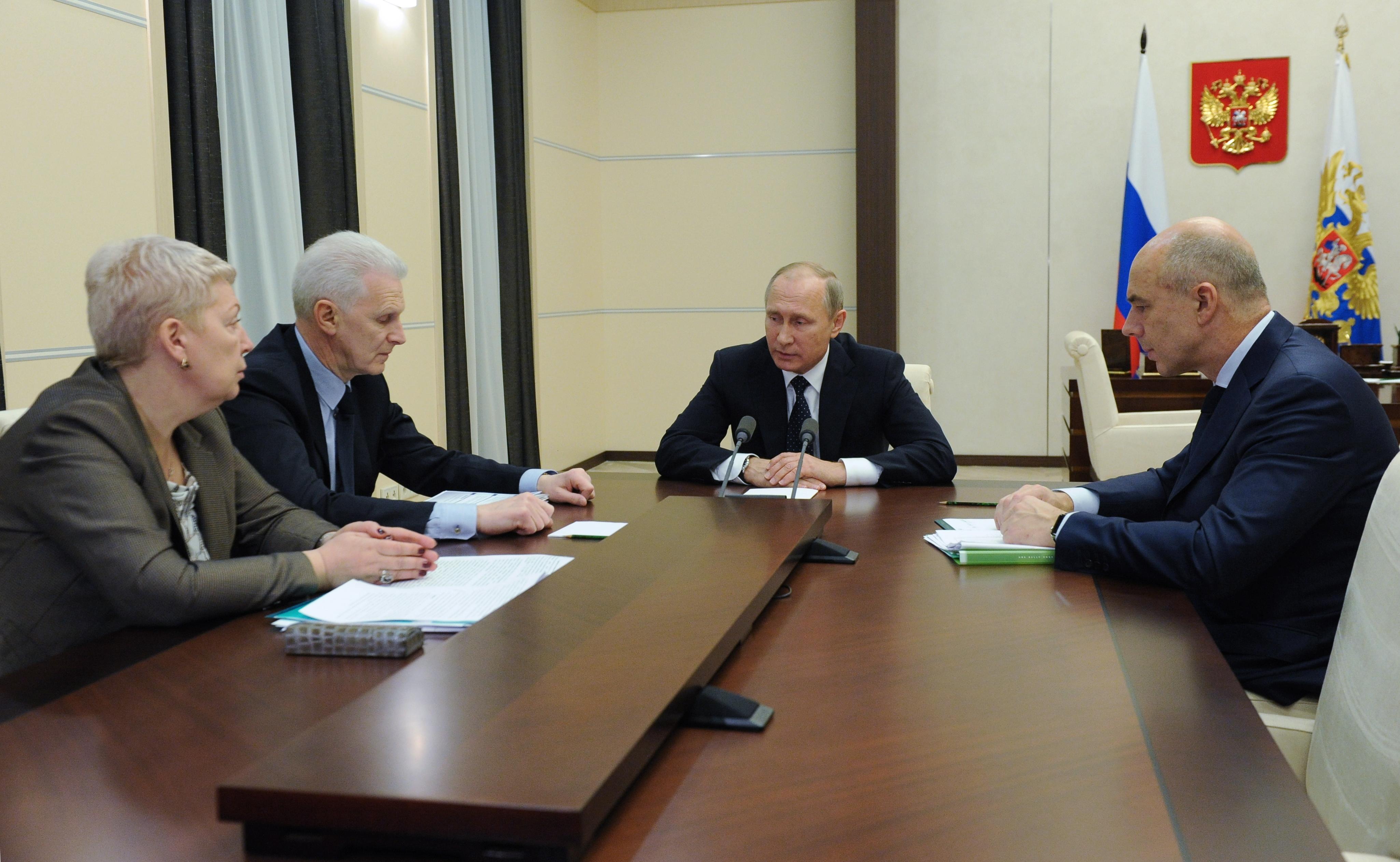 Путин пообещал выделить учёным в 2017-ом году дополнительно 3,5 млрд руб.