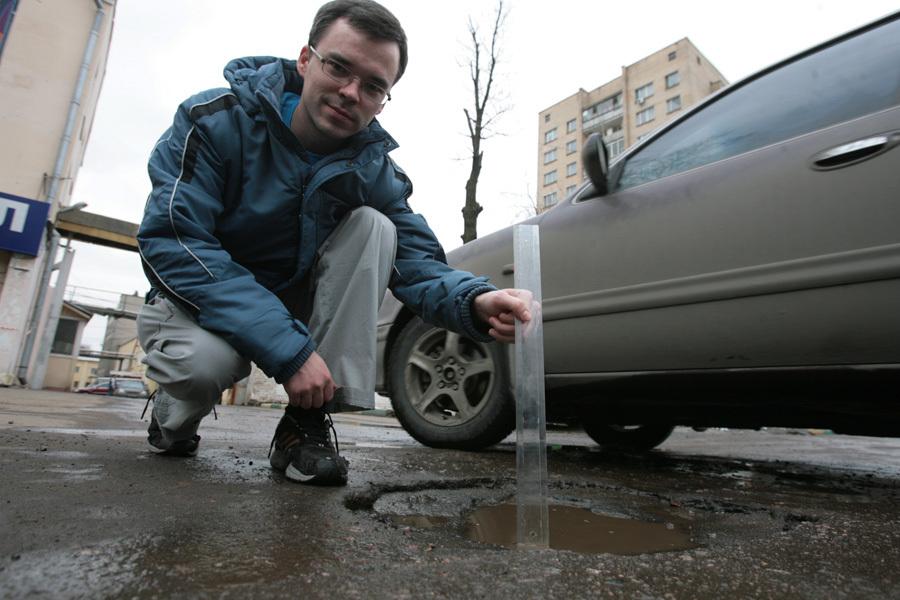 Администрация Челябинска выплатит 55 тыс. руб. водителю заяму надороге