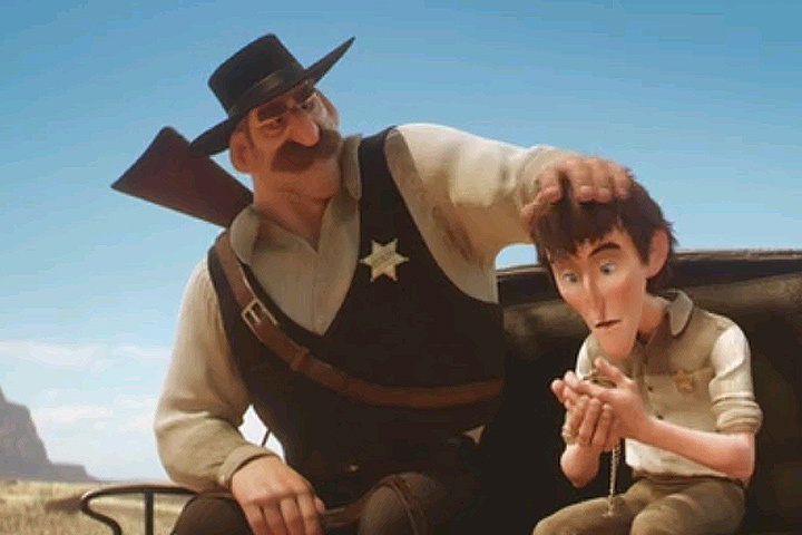 Кадр из анимационного фильма.