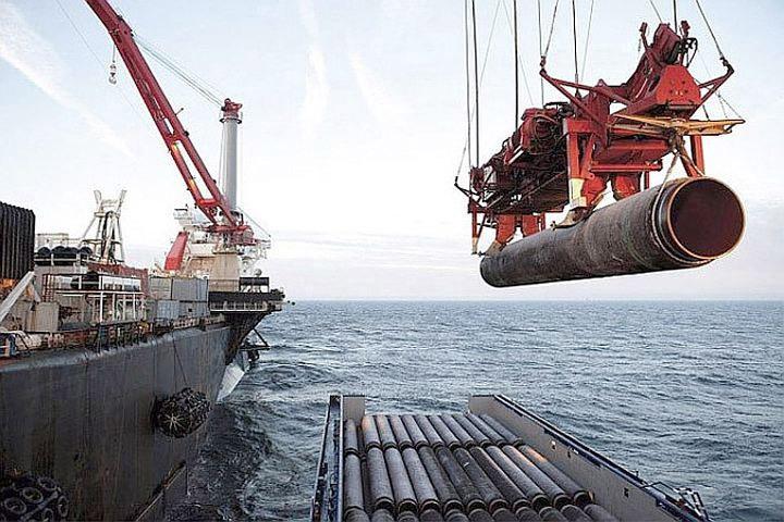 Строительство российско-германского газопровода «Nord Stream 2» в Балтийском море вызывает жаркие политические споры. Фото: с сайта nord-stream.com