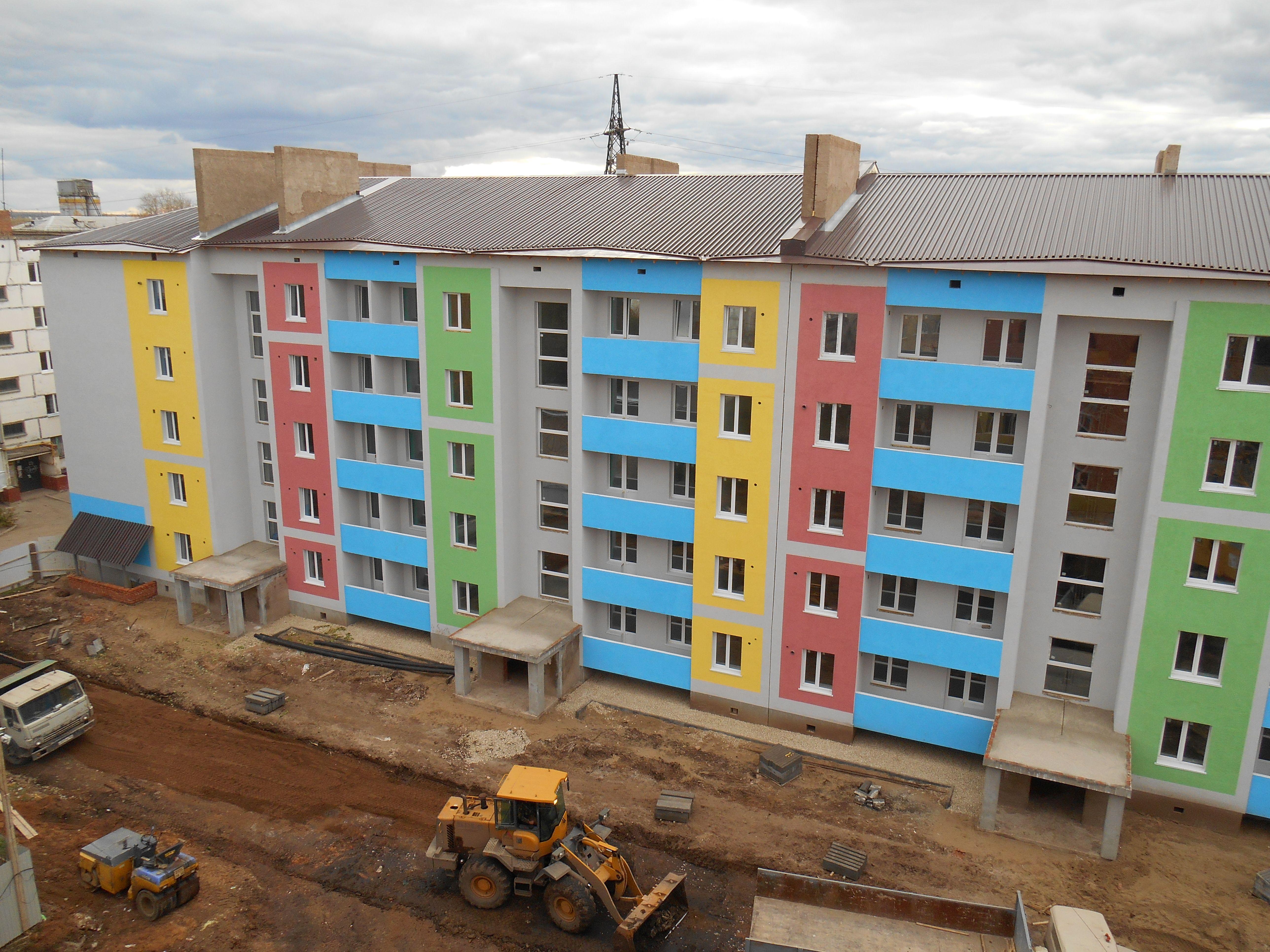 ВОтрадном построили два дома для переселенцев изаварийного жилья