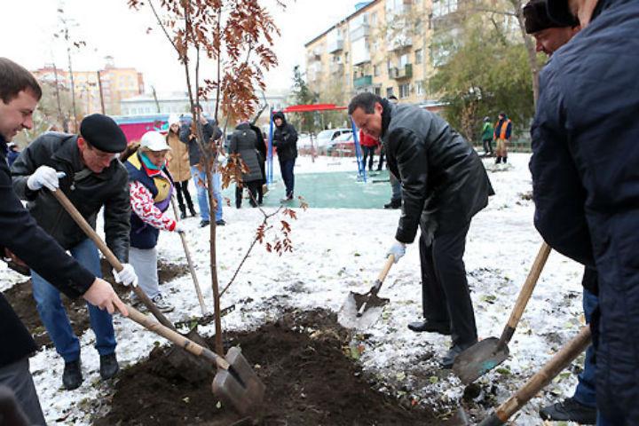 ВКрасноярске завершают работы поблагоустройству сквера «Тихий»