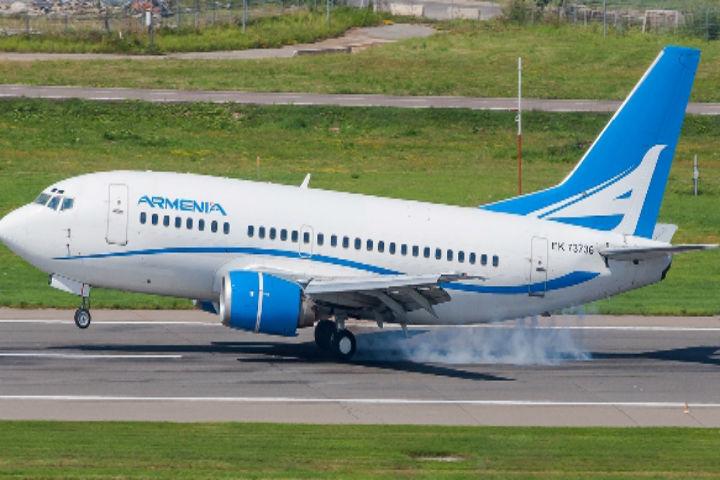 1-ый рейс изВоронежа вЕреван отправится 16декабря