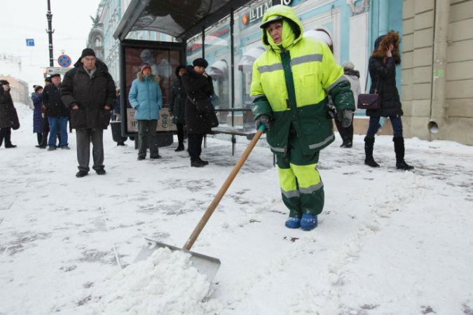 Утром 25октября вПетербурге ожидают мокрый снег