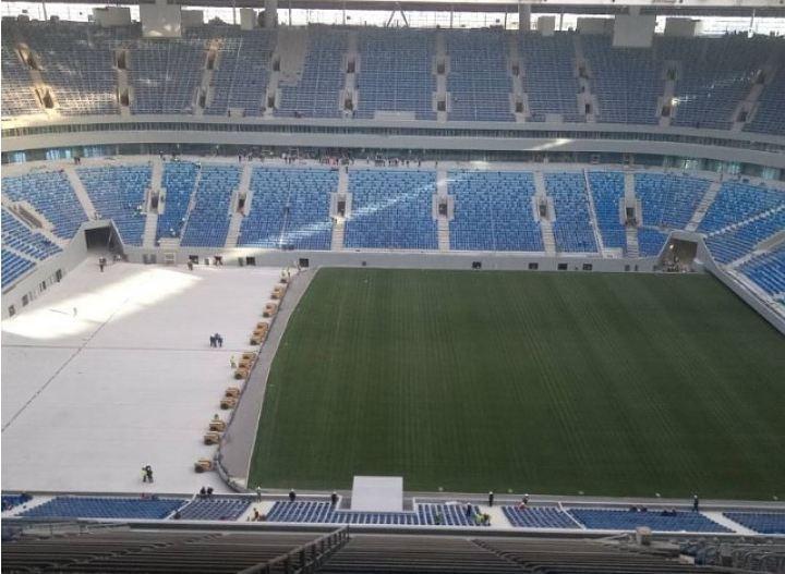 """Стадион """"Крестовский"""" непригоден для чемпионата мира"""