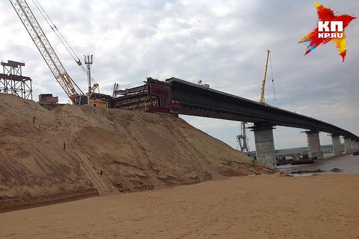 Камский мост сдадут кначалу весны 2017г.