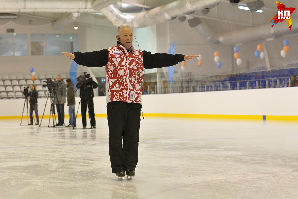 Тренер сборной РФ пофигурному катанию проведет мастер-класс для орловцев