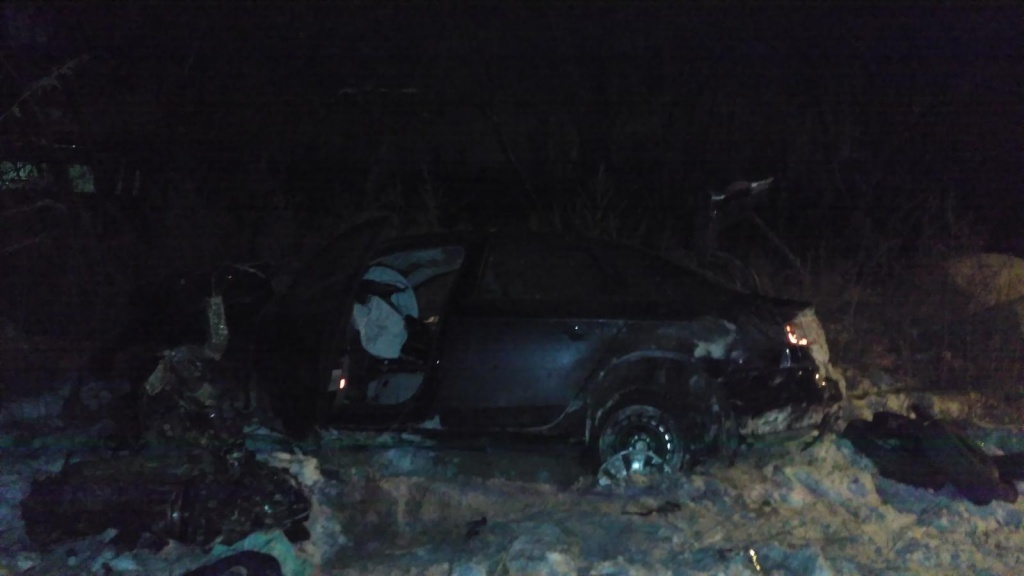 Молодой лихач на«Ауди» разбился ночью вПерми