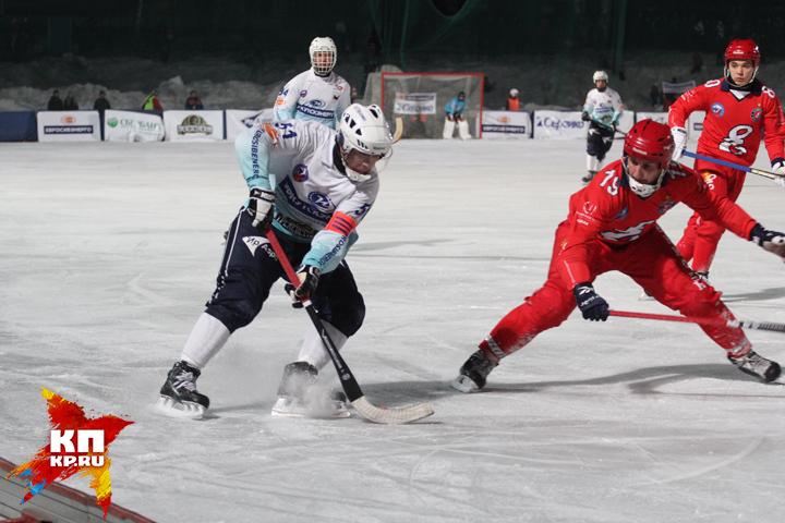 Иркутская «Байкал-Энергия» выиграла чемпиона РФ «Енисей» изКрасноярска