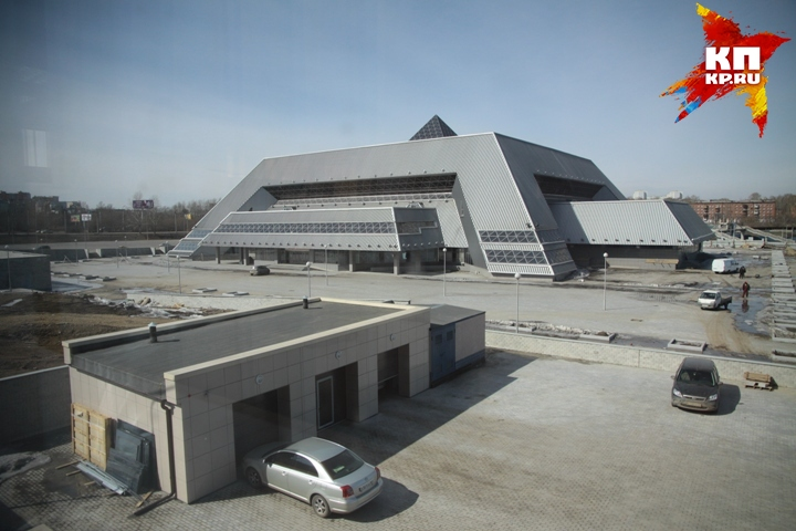 Вдостроенном Ледовом замке Иркутска пройдут первые массовые катания