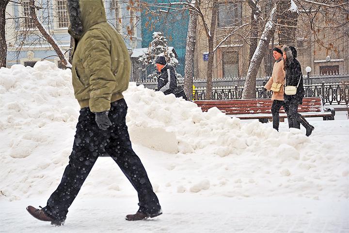 Навыходных вВоронеже резко похолодает ипойдет снег