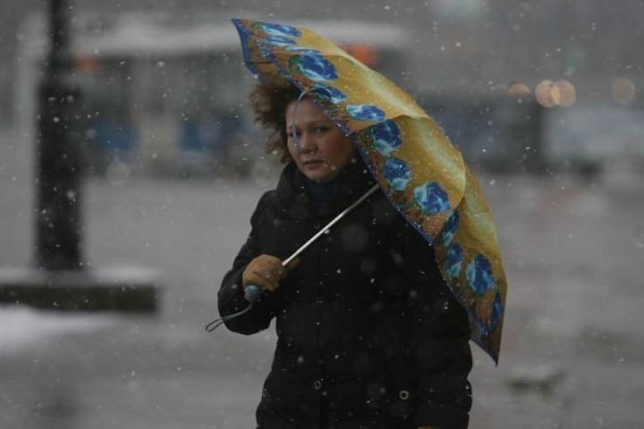 Мокрый снег, дождь идо +6 ожидаются в Республики Беларусь 17ноября